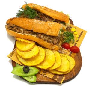 ساندویچ رست بیف زینو