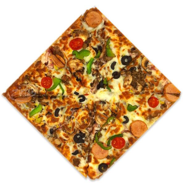 پیتزا اسپیشیال آمریکایی زینو