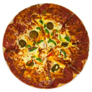 پیتزا پپرونی ایتالیایی